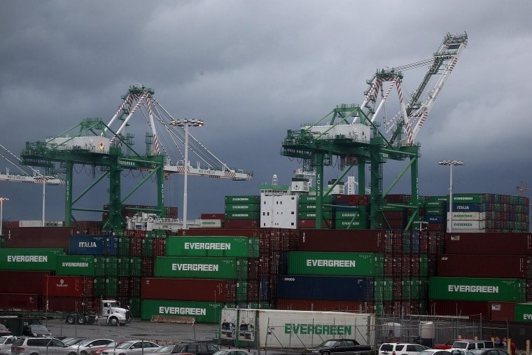 Image: West Coast Port Workers Yet To Reach Labor Deal As Potential Strike Looms