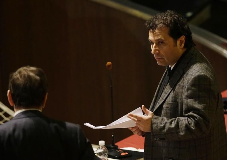 Image: Francesco Schettino attends his trial
