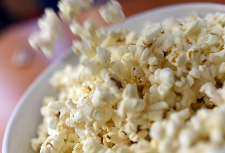 To a couple of French investigators, popcorn is a biomechanical enigma waiting to be explained.