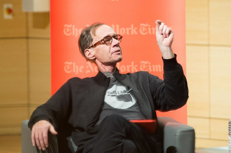 Image:   New York Times Columnist David Carr