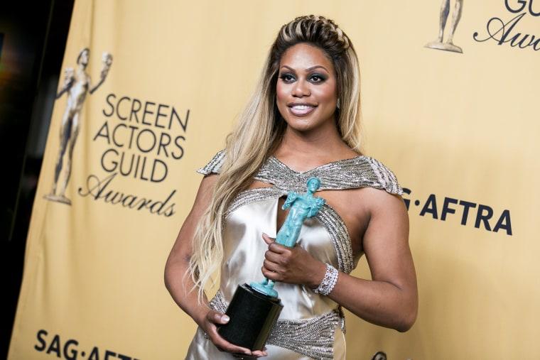CA: 21st Annual Screen Actors Guild Awards - Press Room