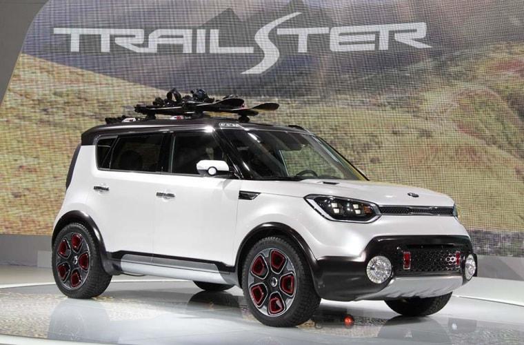 """Kia's """"Trailster"""" concept car"""