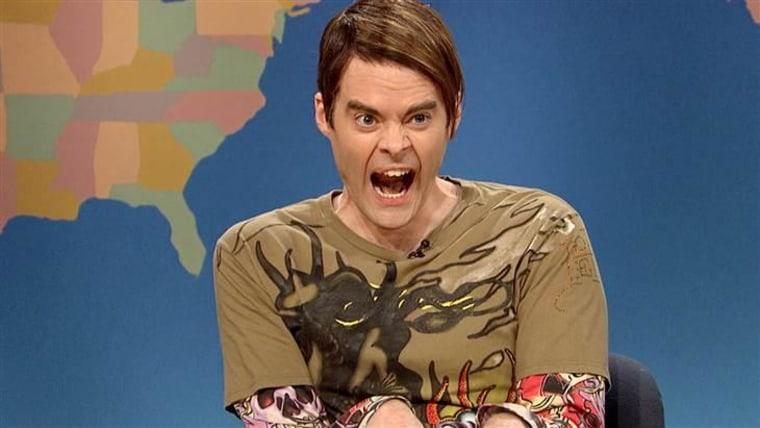 "Bill Hader as Stefon on ""Saturday Night Live."""