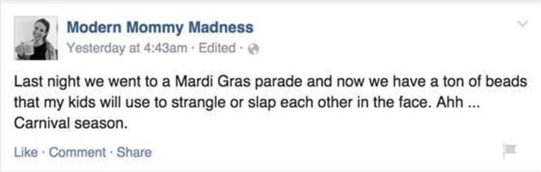 Facebook/ Mommy Modern Madness