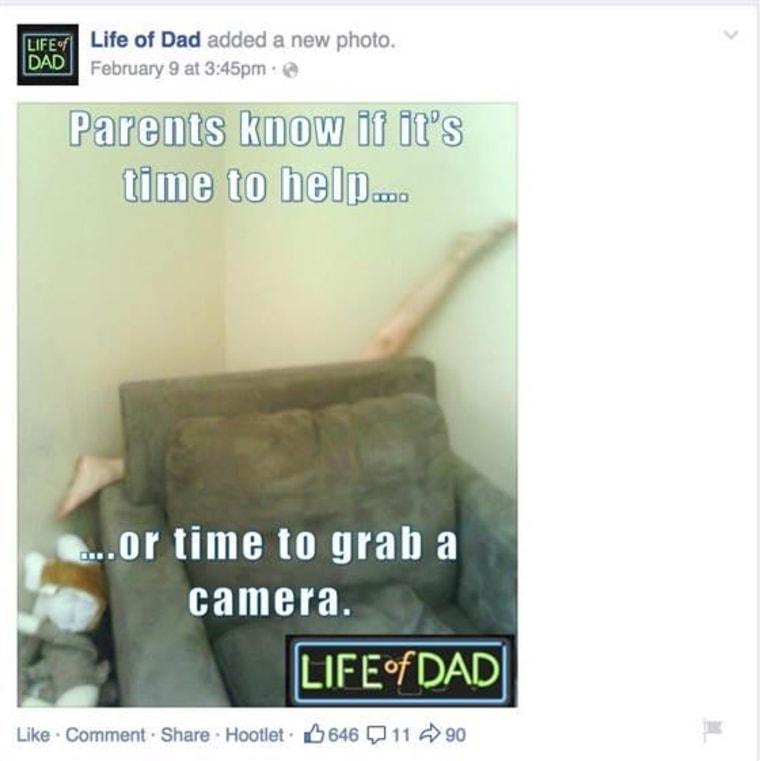 Facebook/ Life of Dad