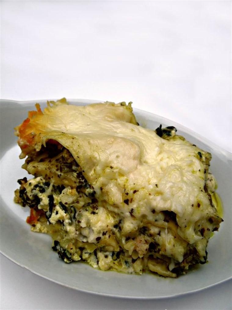 Chicken and Artichoke Slow-Cooker Lasagna