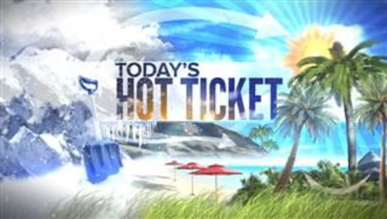 Want to escape? Enter to win TODAY's Hot Ticket.