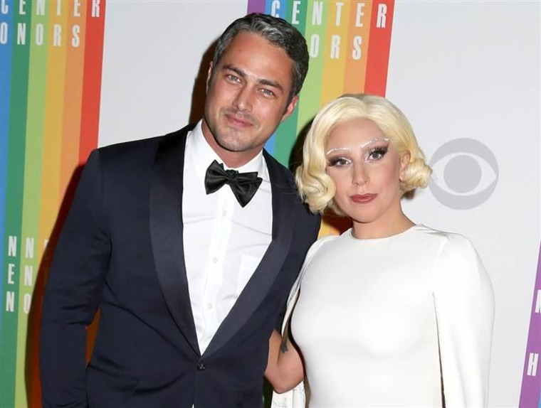 Mr. and Mrs. Gaga-to-be! Taylor Kinney and Lady Gaga have been together for most of four years.