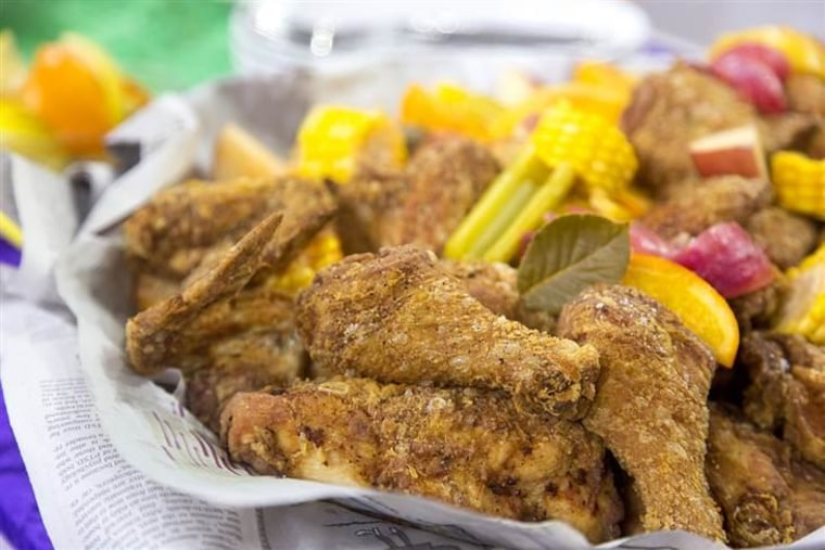 TODAY Show: Tory McPhail, executive chef of Commander's Palace, cooks up chicken and beignets for Mardi Gras -- February 17, 2015.