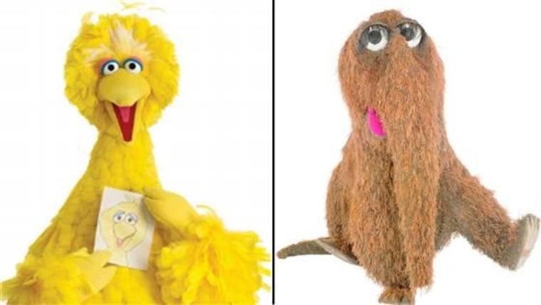 @BigBird has been tweeting at @MrSnuffleupagus on Twitter.