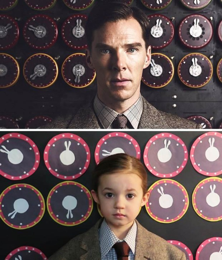 "Sophia in ""The Imitation Game"""