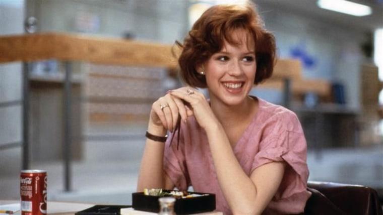 """Molly Ringwald in """"The Breakfast Club."""""""