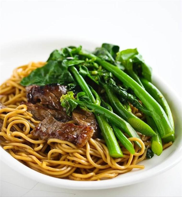 broccoli beef noodles