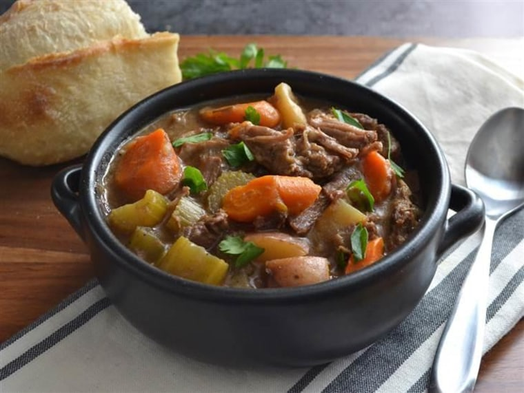 slow-cooker rosemary garlic beef stew