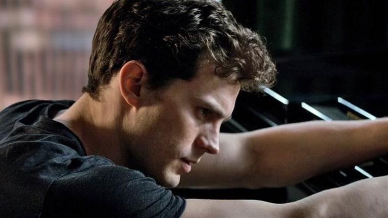 "Jamie Dornan as Christian Grey in ""Fifty Shades of Grey."""