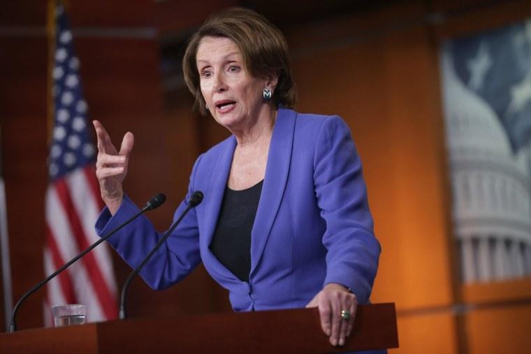 Image: Nancy Pelosi Holds Weekly Press Briefing