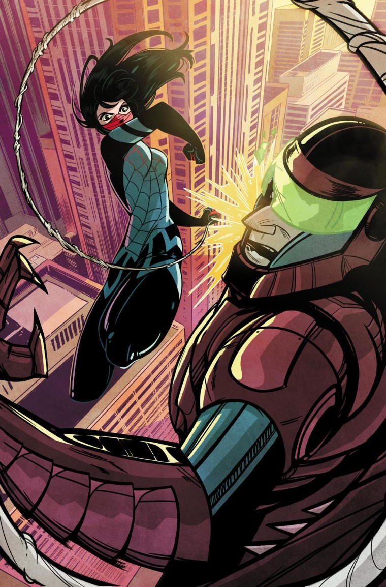 "The first installment of ""Silk,"" a new Marvel comic book derived from the Spider-Man series, appears in stores February 18."