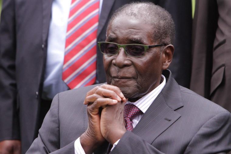 Image: Robert Mugabe on Dec. 12, 2014