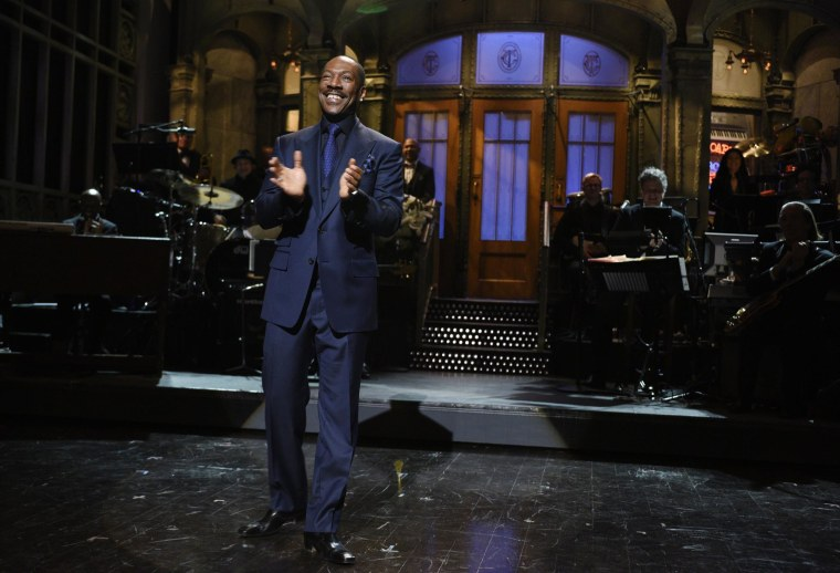 Image: Eddie Murphy appears on the SNL 40th Anniversary Special