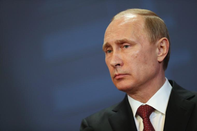 Image: Vladimir Putin Visits Hungary