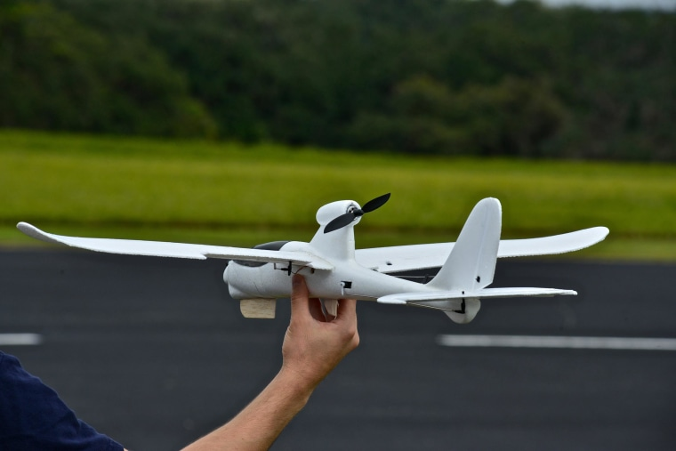 Image: Small unmanned non-military aircraft training