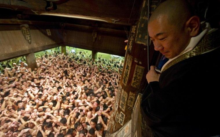 Image: Saidaiji Naked Festival