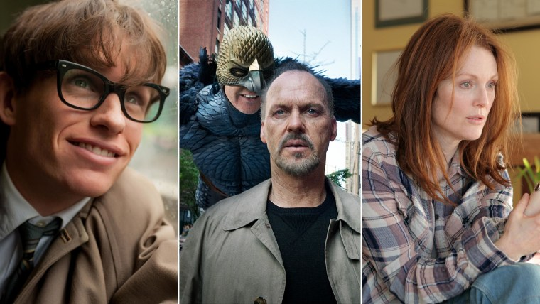 """Scenes from """"The Theory of Everything,"""" """"Birdman"""" and """"Still Alice."""""""