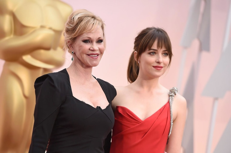 Image: Melanie Griffith, Dakota Johnson