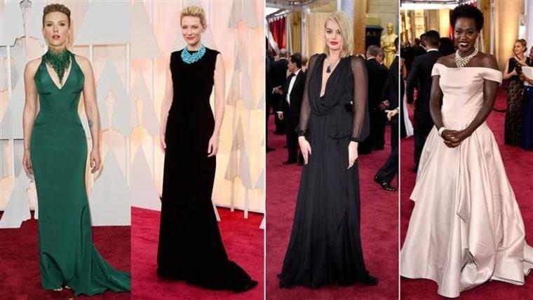 From left: Scarlett Johansson, Cate Blanchett, Margot Robbie, Viola Davis