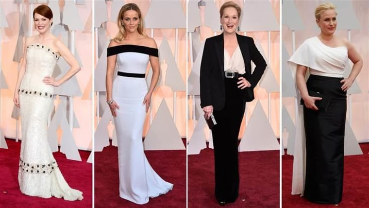 From left: Julianne Moore, Reese Witherspoon, Meryl Streep and Patricia Arquette