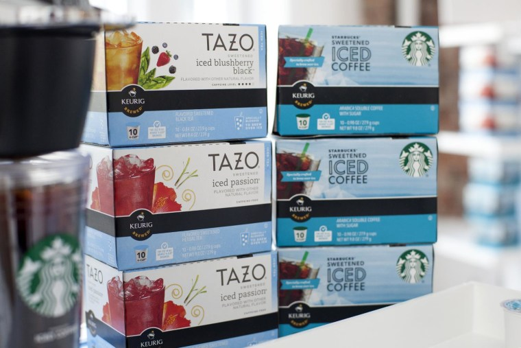 Starbucks new iced coffees and teas for the Keurig.