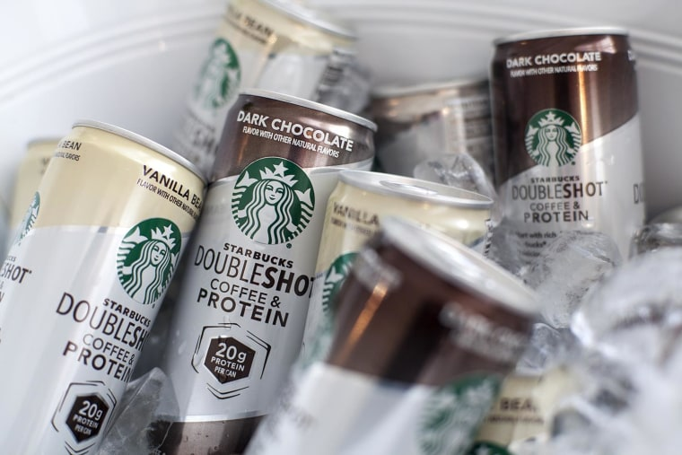 A first for Starbucks: added protein.