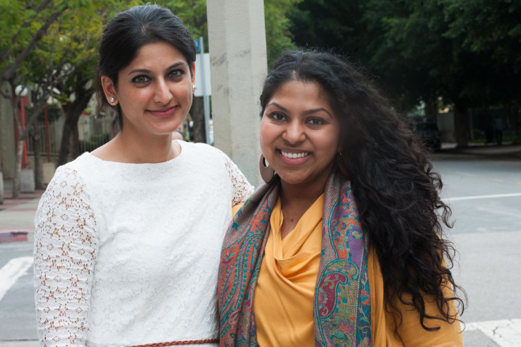 Hasna Maznavi and Sana Muttalib, co-founders of the Women's Mosque of America.