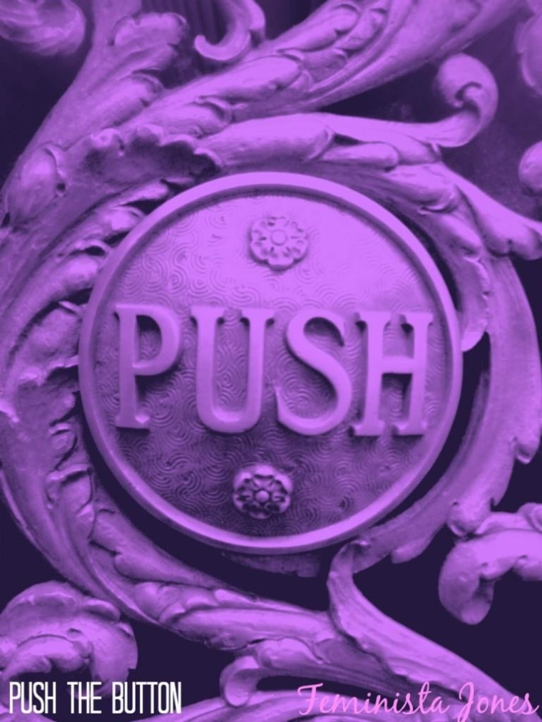 push the button cover
