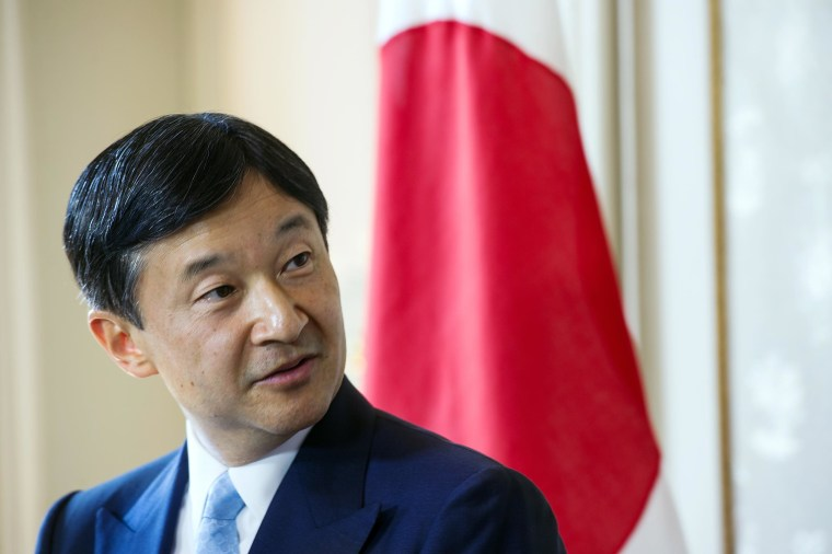 Image: Crown Prince Naruhito of Japan