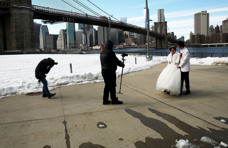 Image: Frigidly Cold Weather Continues To Chill New York City