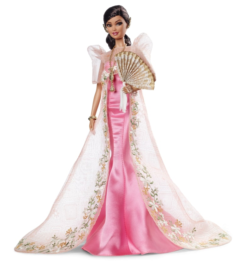 Mattel's newly released Filipina Barbie, Mutya Barbie, designed by Carlyle Nuera.
