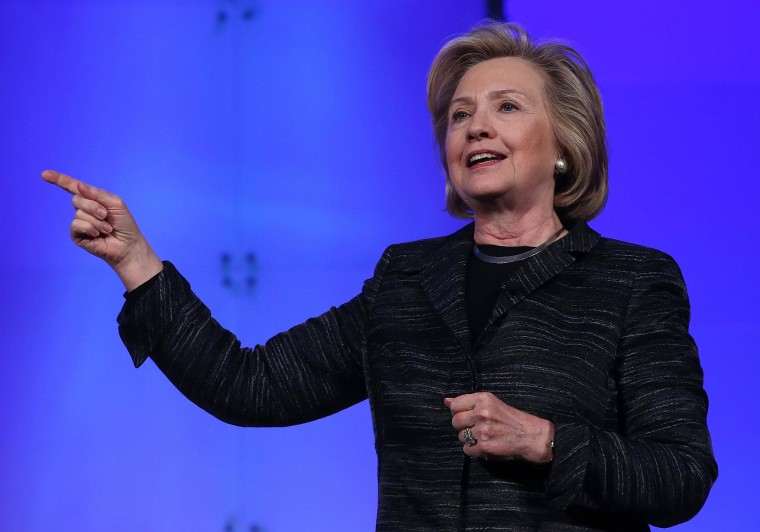 Image: Hillary Clinton Addresses Watermark Silicon Valley Conference For Women