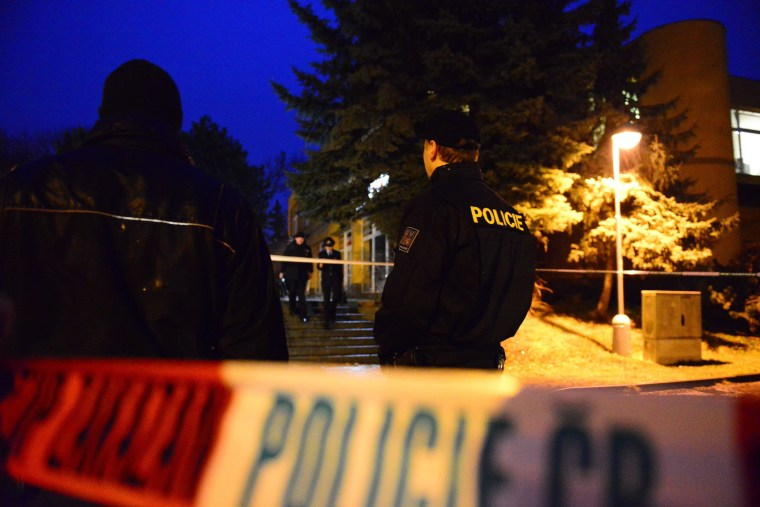Image: Several killed in Czech shooting attack