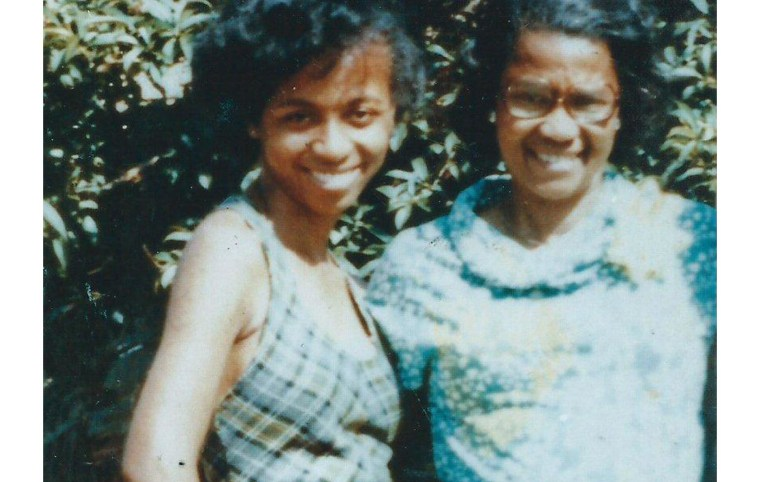 Ebora Alexander and her daughter, Dietra, before their murders in 1984.
