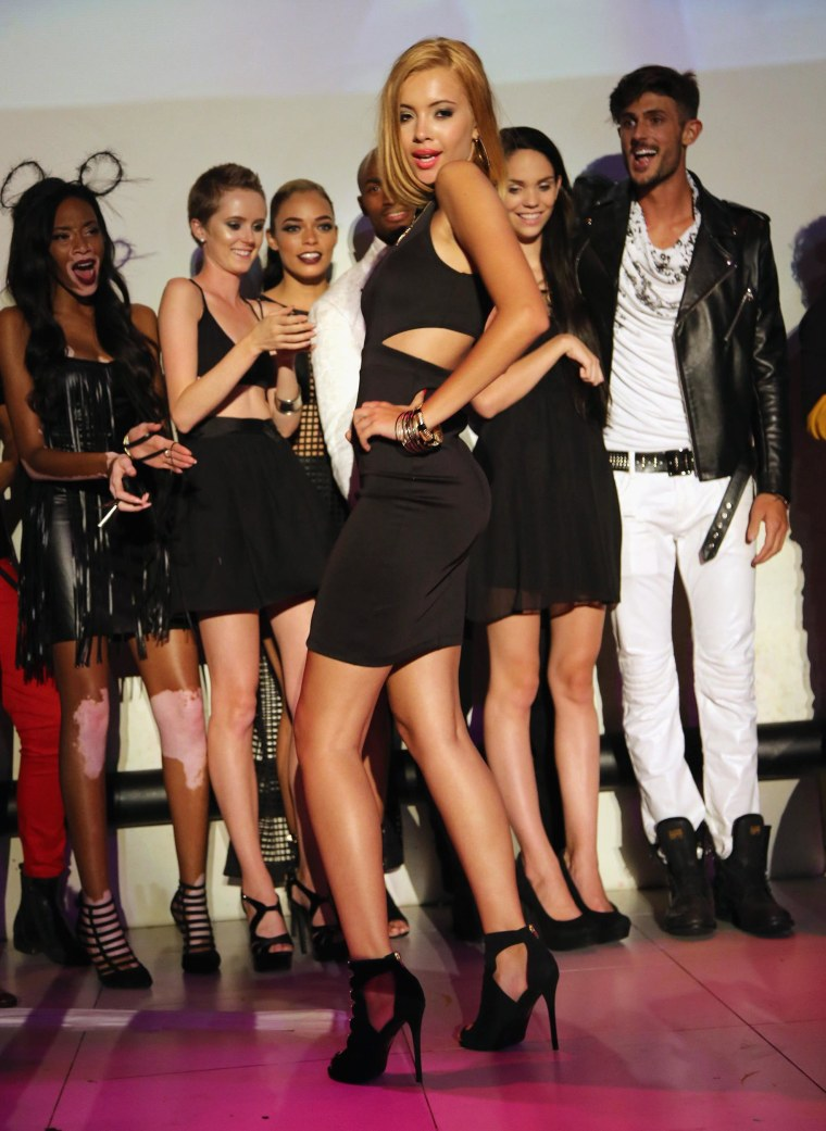 Image: FILE: America's Next Top Model Contestant Mirjana Puhar Murdered America's Next Top Model Cycle 21 Premiere Party Presented By NYLON And LINE