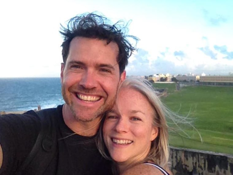 """Bronkar Lee and his wife Cyndi, whom he calls his """"sanity goddess"""" for keeping his impulsive behavior under control."""