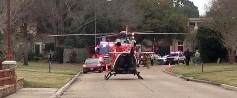 A child was shot in Houston