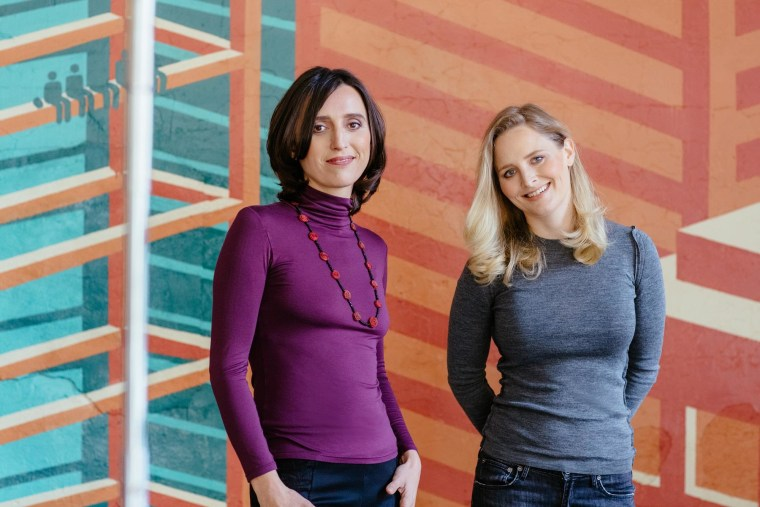 Milena Berry and Katharine Zaleski co-founded PowerToFly, a company that helps women find jobs that can be executed online.