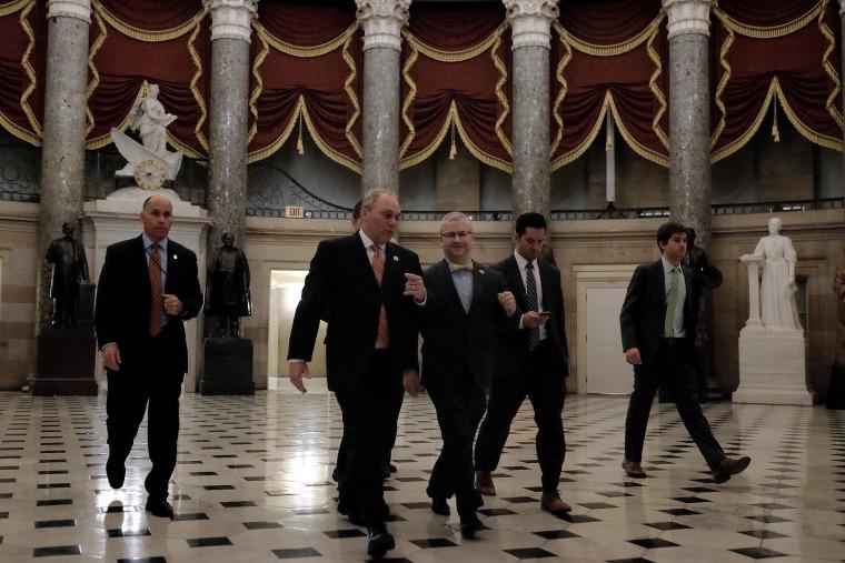 Image: House Passes Stopgap Bill Funding Homeland Security Department For Short Term