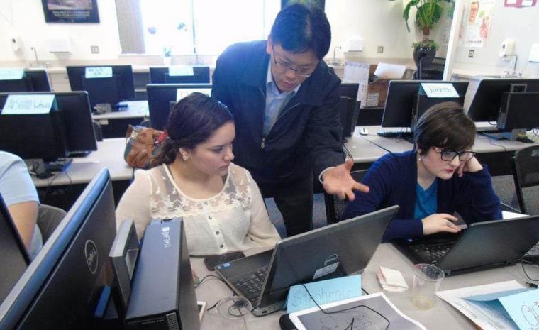 Image: Tri-Tech Skills Center Team and Yu-Cheng Hsu
