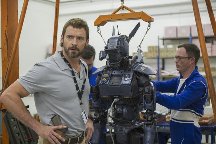 Sony Pictures Chappie Hugh Jackman