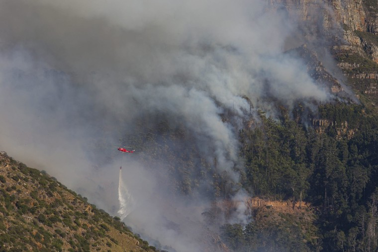 Image: Fire in Cape Town
