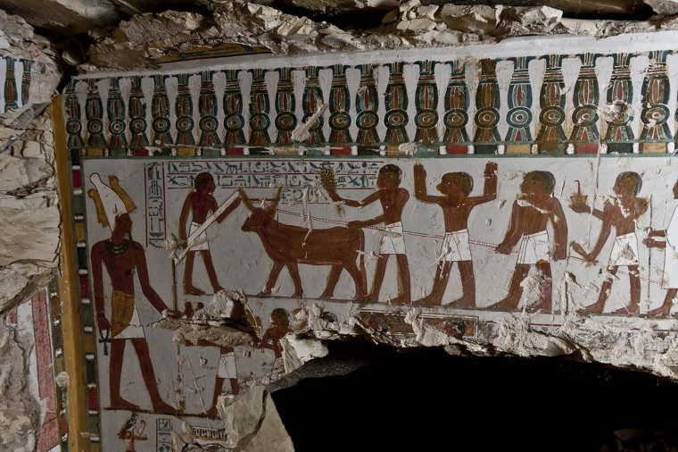 Egypt Unearths Temple Guard's 3,000-Year-Old Tomb