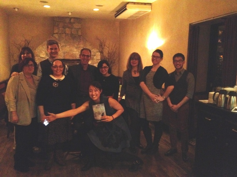Karen Bao on the New York leg of her pre-publication dinner tour of independent booksellers in five cities.